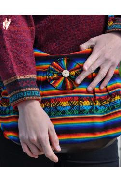 Sac a main Chaski aux couleurs rasta