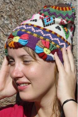 Bonnet pour femme couleurs d'automne