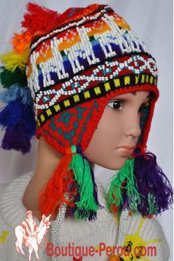 Bonnet péruvien enfant d'Ocongate.