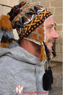 Bonnet péruvien homme Ocongate Condor