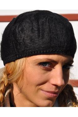 Bonnet femme noir