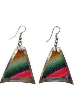 Boucles d'oreilles arco iris