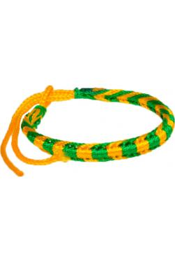 Bracelet porte bonheur aux couleurs du Brésil