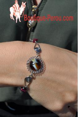 Bracelet avec murano.