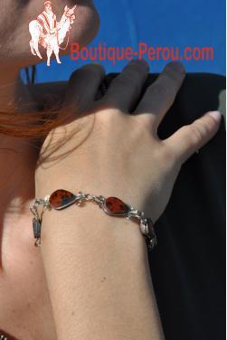 Bracelet Raymi pierre oeil de tigre
