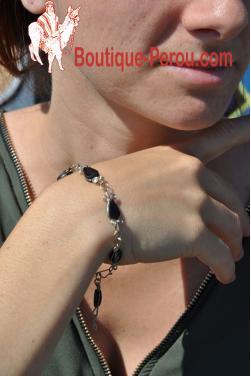 Bracelet Raymi pierre onyx