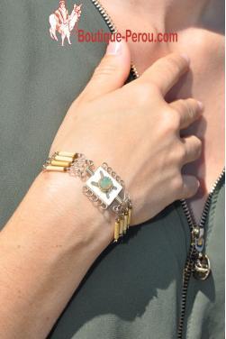 Bracelet en verre murano