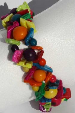 Bracelet aux couleurs vives