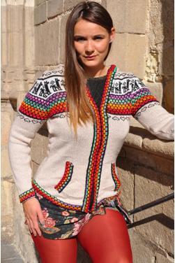 Gilet en laine de l'Altiplano