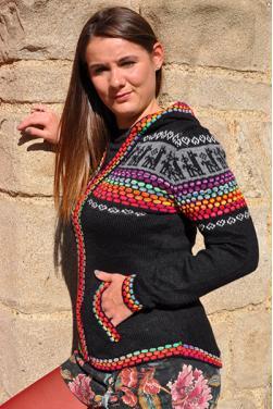 Gilet Altiplano noir.