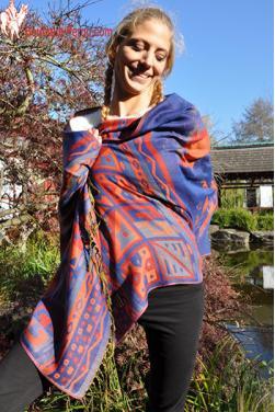 Echarpe foulard - Tendances couleurs de printemps