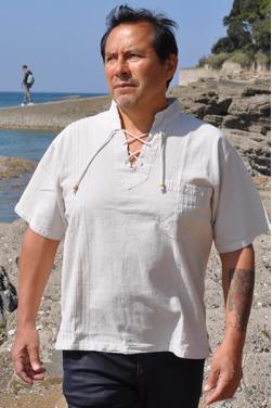 Chemise tunique homme