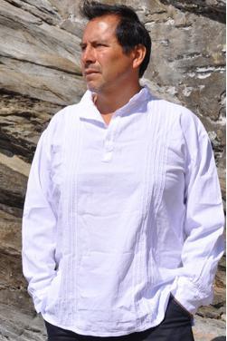 Chemise blanche manche longue