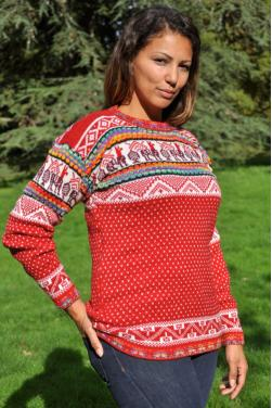 Pull-over d'hiver femme