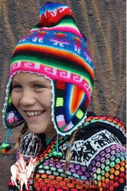 Bonnet péruvien  des Andes