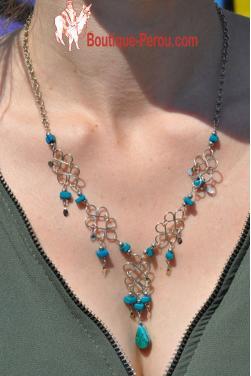Collier en turquoise - Chaska