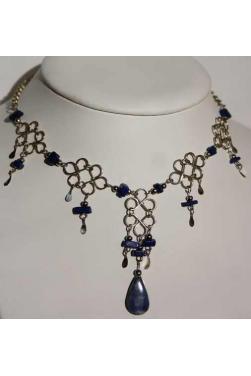 Collier en lapis-lazuli - Chaska