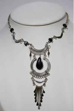 Collier Inti pierre onyx