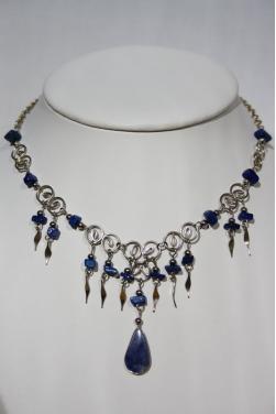 Collier du Qosqo  pierre lapis-lazuli