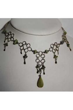 Collier en serpentine - Chaska