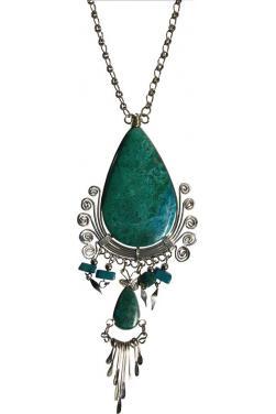 Collier en turquoise des Andes