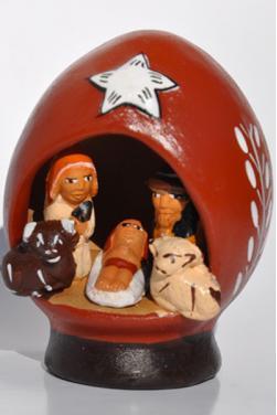 Creche peruvienne
