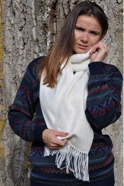 Echarpe blanc des Andes