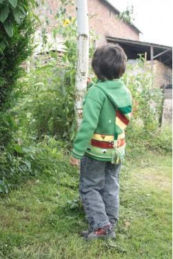 Gilet enfant verde esperanza