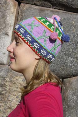 Bonnet Lucie couleurs d'hiver