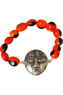 Bracelet de la chance et son masque d'indien