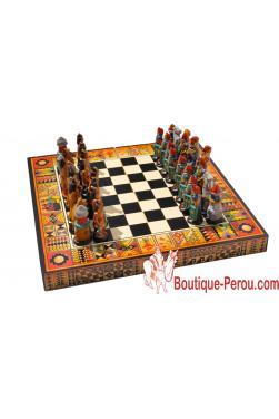 Jeux d échec en bois et de qualité.