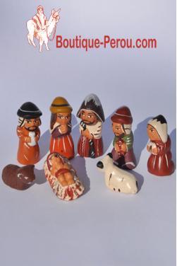 Creche miniature de la ville d'Ayacucho.