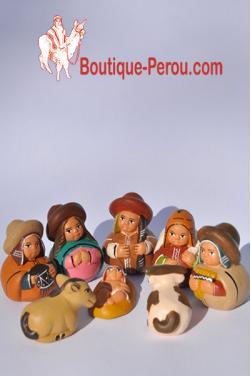 Creche peruvienne-Nacimientos
