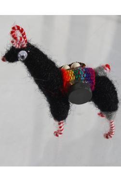 Lama noir magnet