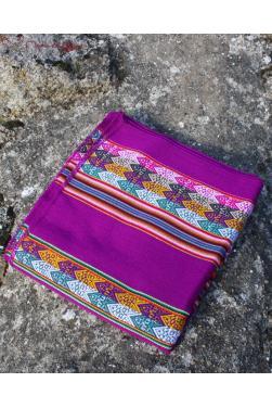 Tissu ou Manta violette