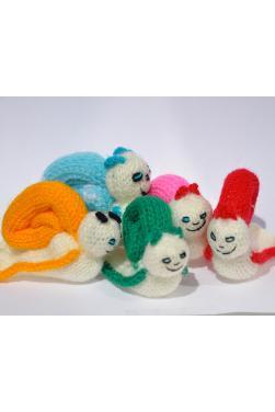 Marionnettes à doigts - Lot de 5 marionnettes péruviennes