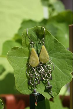 Boucles d'oreilles Qosqo - Serpentine.