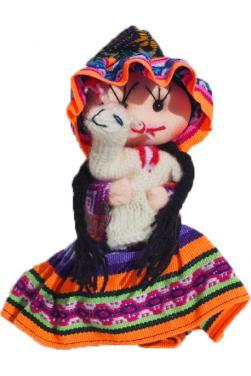 Poupée cholita de Cuzco.