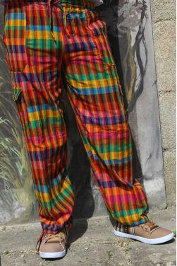 Pantalon peruvien payaso