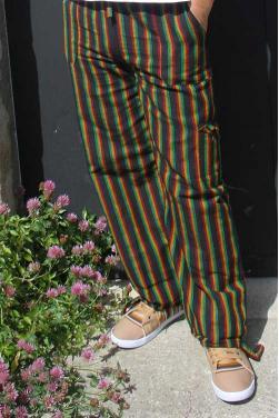 Pantalon peruvien rasta