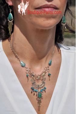 Parure de bijoux fantaisie Quilla