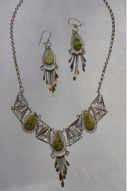 Parure Condor bijoux des Andes.