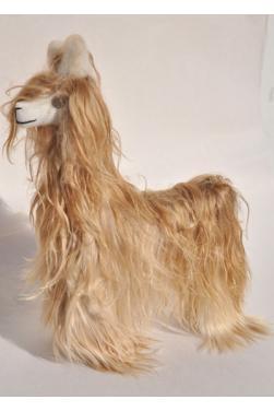 Peluche peruvienne la llama loca - Le lama fou