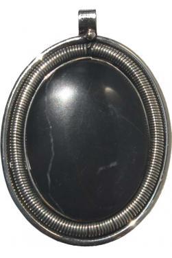 Pendentif en pierre onyx