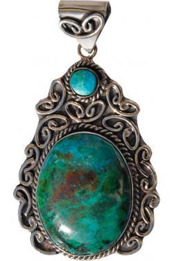 Pendentif en turquoise