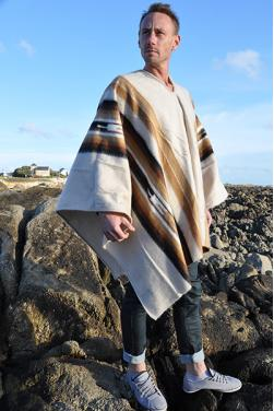 Poncho alpaga Inca