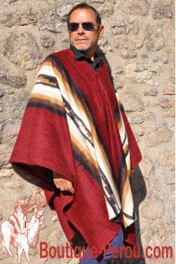 Poncho sud-américain Inca