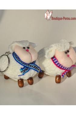 Lot de deux Porte clefs mouton