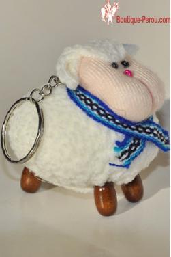 Porte clefs mouton p?ruvien