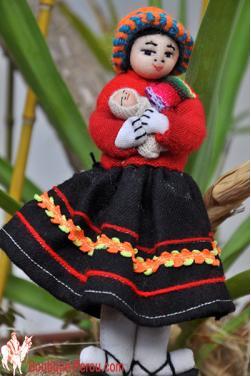 Poupée péruvienne